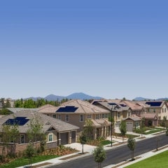 Free Solar PV Arrays for New Homebuyers in California