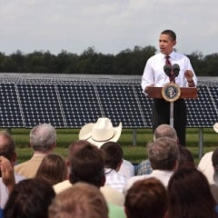 Obama Calls for Investing in Tomorrow's Solar Workforce and Projects
