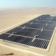 Solar Bids Come in at Less Than Coal—in Dubai