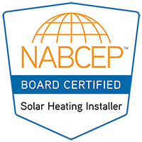 NABCEP Certified Solar Thermal Installer