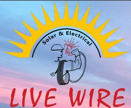 Live Wire Solar & Electric logo