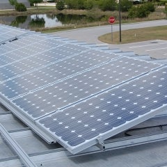 Commercial PV install