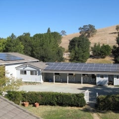 A 14kW system Sharp solar modules and Enphase micro-inverters (Walnut Creek)