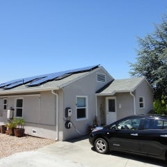4.68kW Solar with electric vehicle charging (Benicia)