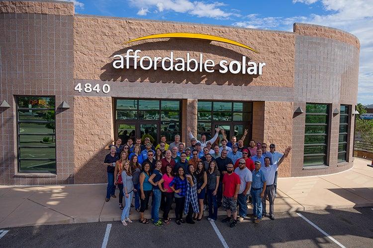 Affordable Solar Team Members