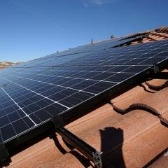 Spanish Tile Solar Installation