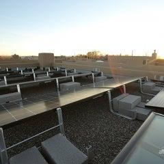 Flat Roof Solar Installation