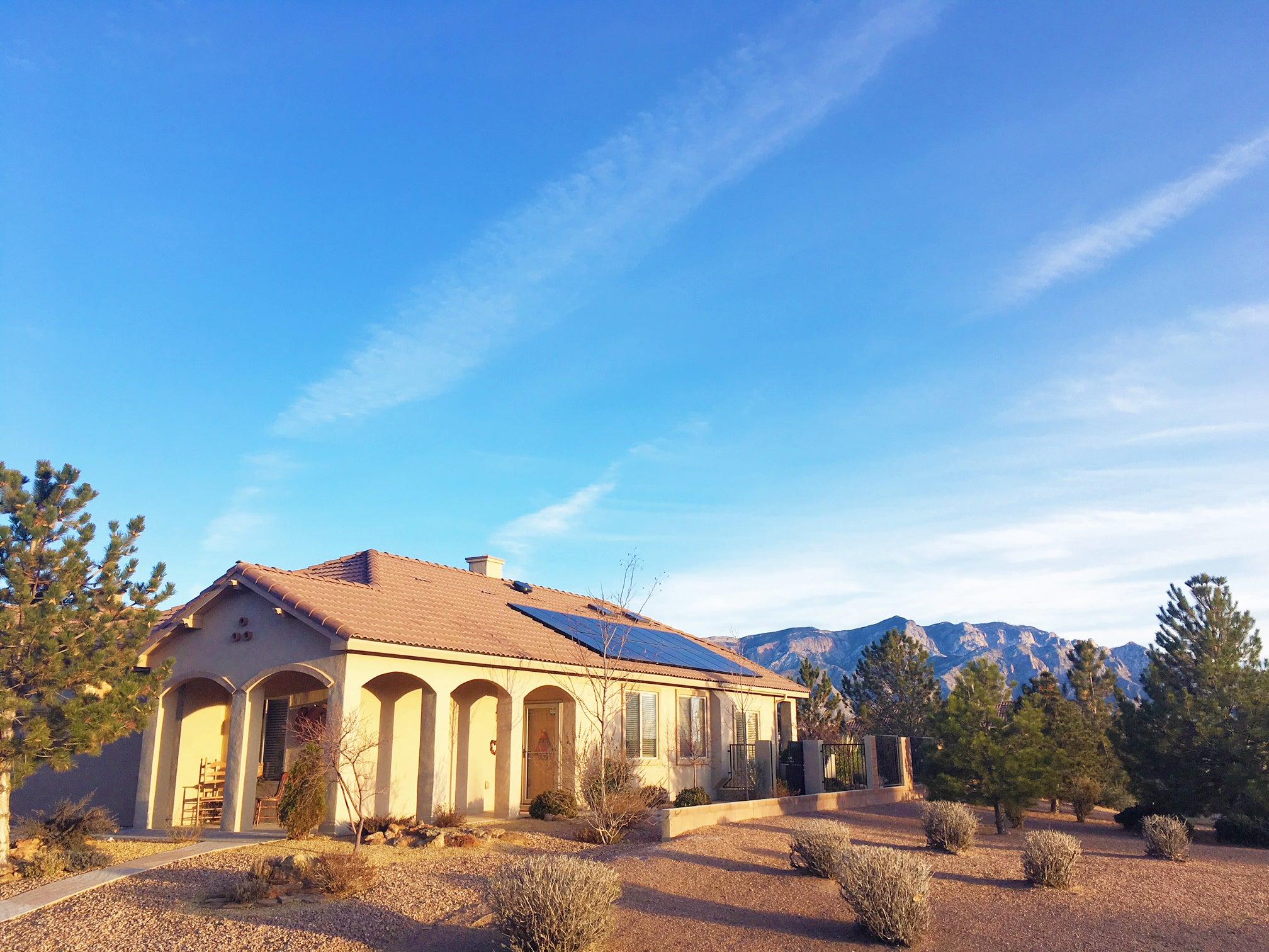 Tile Roof Solar Panel Installation, Rio Rancho