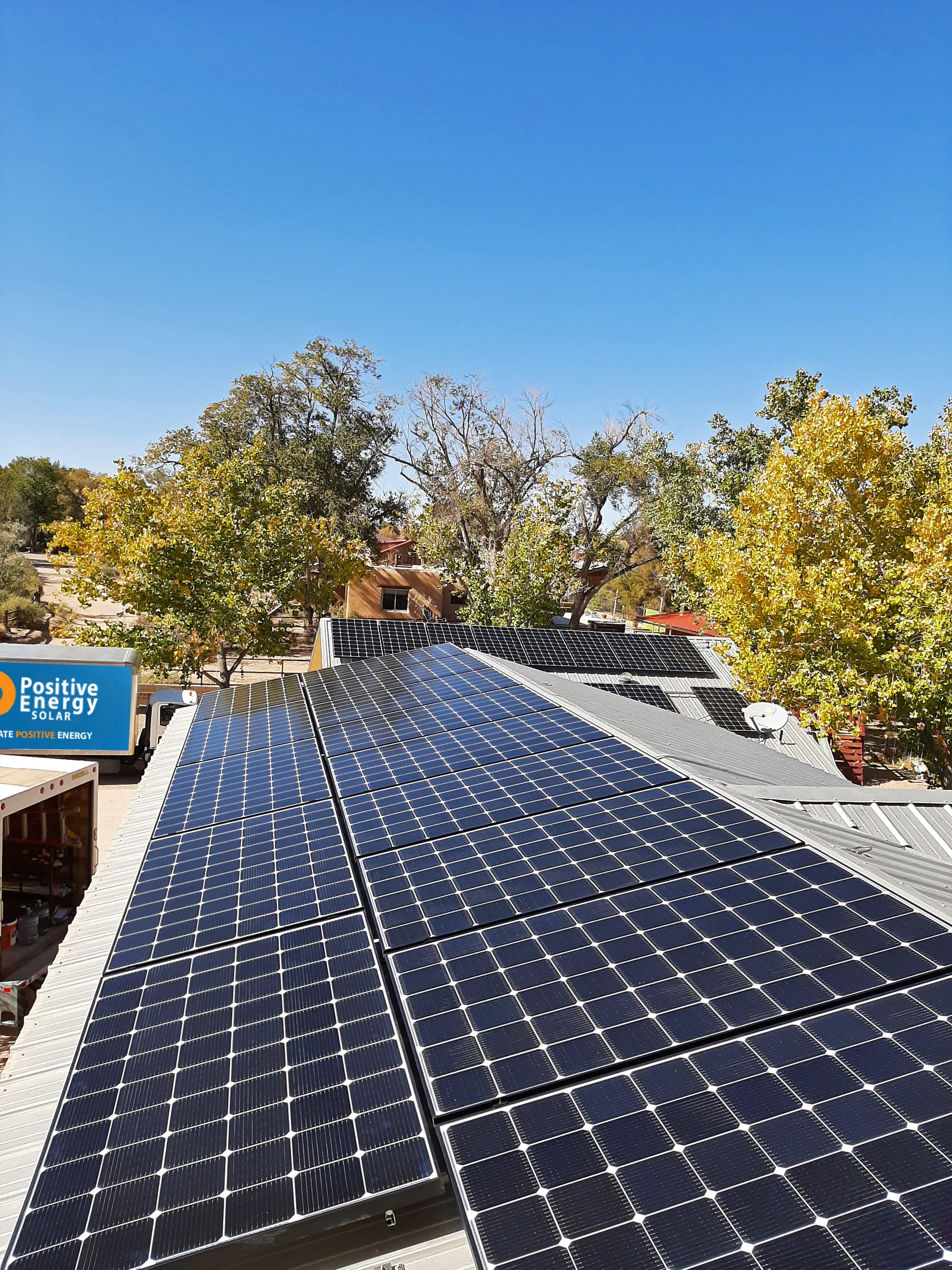 Solar Panel Installation, Corrales