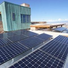 Los Alamos Solar Installation