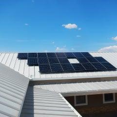 Metal Roof Solar Panel Installation, Albuquerque