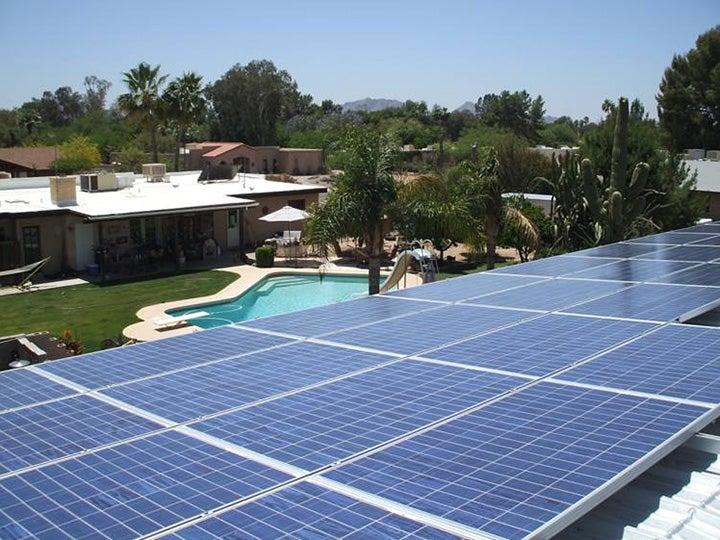 Surnun Arizona Solar Home