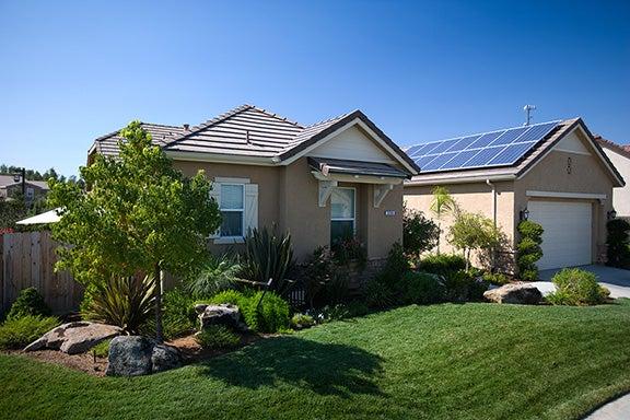 Sunrun California Solar Home - Fresno