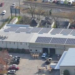 100kW solar  in Houston