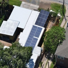 8.38kW Roof Mount and Canopy in the Heights