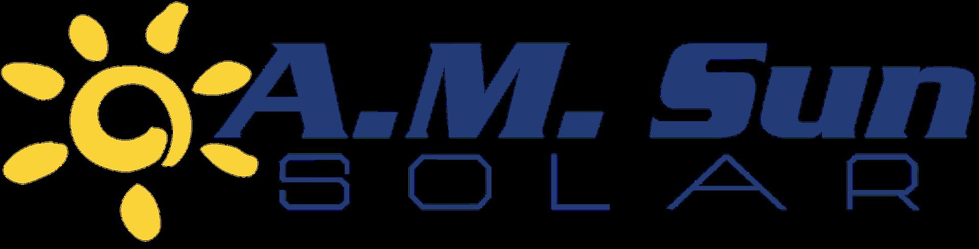 AM Sun Solar logo