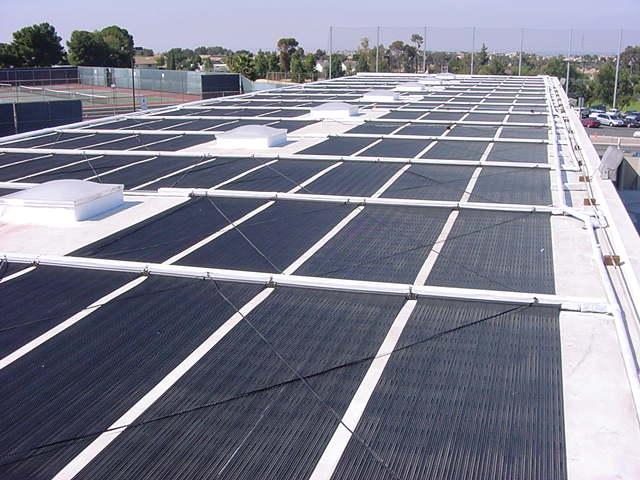 Commercial Solar Pool Installation