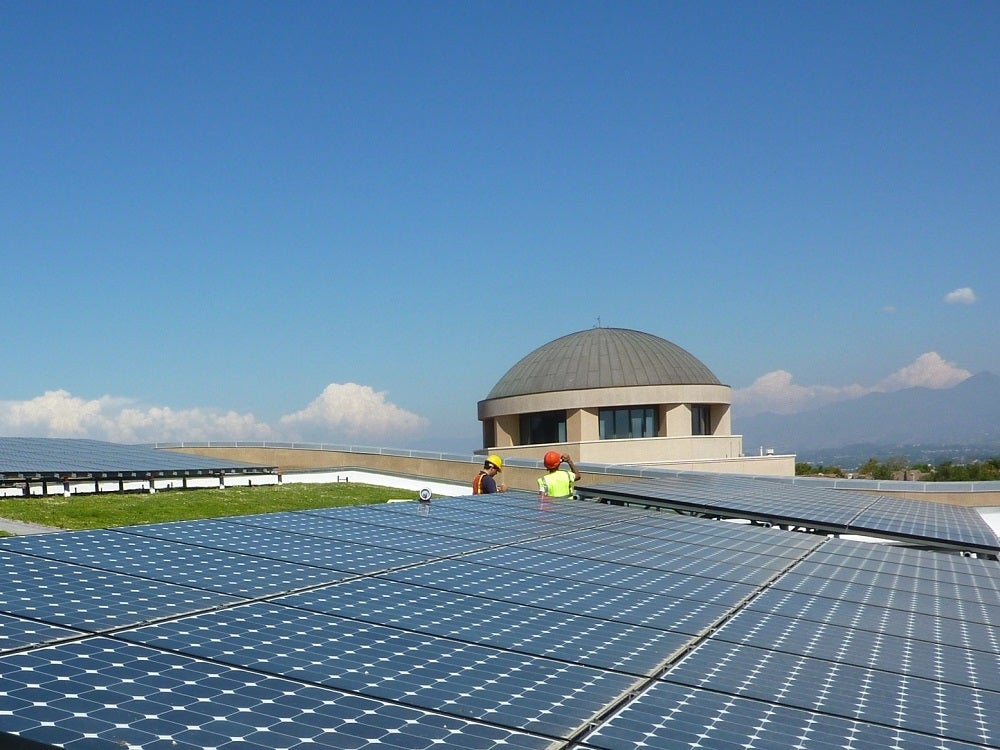 Commercial Solar Installation at SOKA University