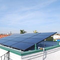 Solar Electric Panel Array