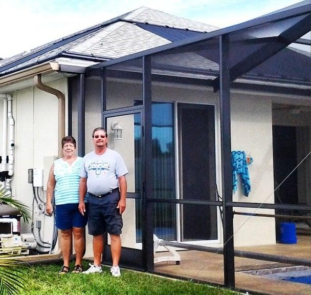 Davis Family - Pool Solar