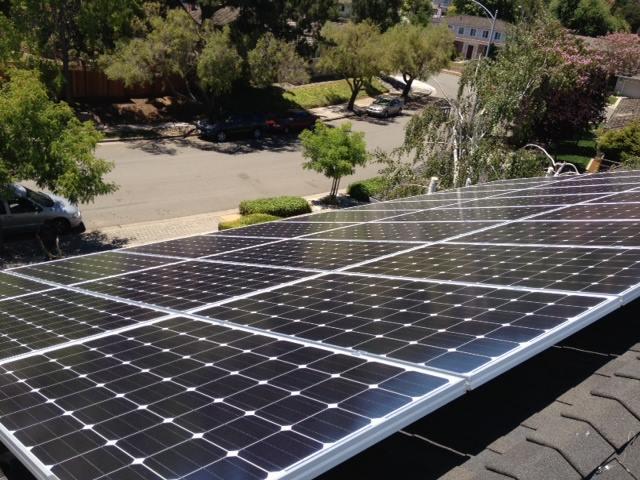 A Solar Installation, in Cupertino