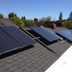 Solar Installation, Mountain View