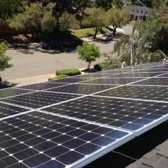 A Solar Installation, in Cupertino