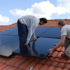 All Black SunPower Panels