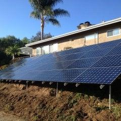 11.8 kW solar electrical system in Escondido, California