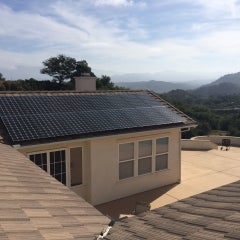 11.0 kW solar electrical system in Valley Center, California