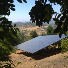 11.8 kW DC ground rack system off Rolling Hills Drive in Valley