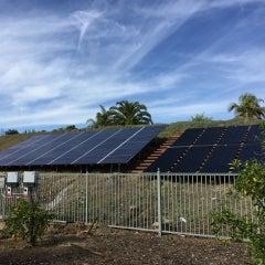 10.9 kW solar electrical system in Vista, California