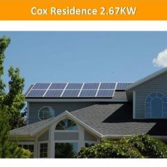 Cox Residence 2.67KW