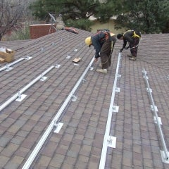 8.75kW Roof mount with John and Elgin, Albuquerque NM