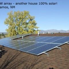 6.11kW solar array- Los Alamos, NM