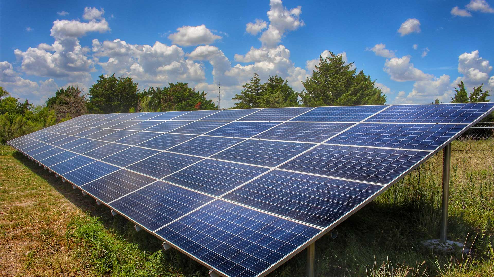 Ground Mount Solar Array - Austin, Texas