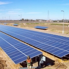 200Kw, commercial project that Wright-Way worked on near Houston