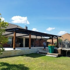 Solar Awning at your home extends outdoor living space