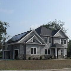 CIR Solar Thin Film pv panels @ Rivera Greens, Clarence NY