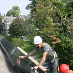 CIR Solar installation @ Arlington Park, Buffalo NY