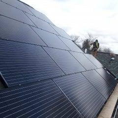CIR Solar installation in Clarence Center, NY
