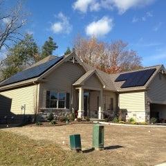 CIR Solar installation @ Rivera Greens, Clarence NY