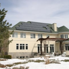 Silevo Panels in East Amherst, NY