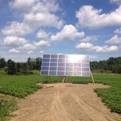 CIR Solar, solar tracker install in North Collins, NY