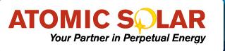 Atomic Solar logo