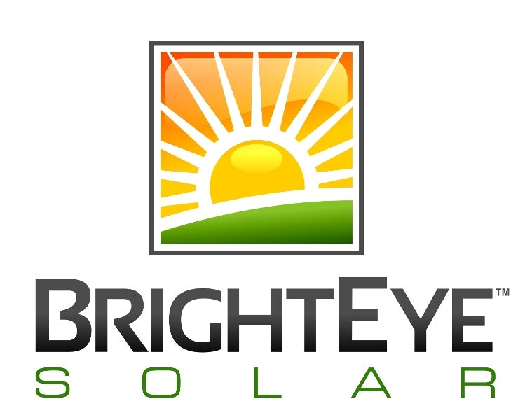 Bright Eye Solar's company logo