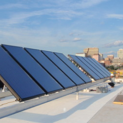 The Lofts at Printers Square Solar Hot Water Project
