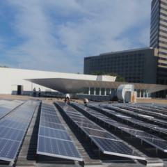 Solar Installation at Columbia Museum of Art