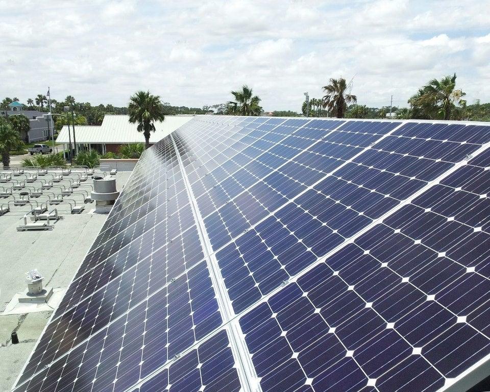 37KW solar array