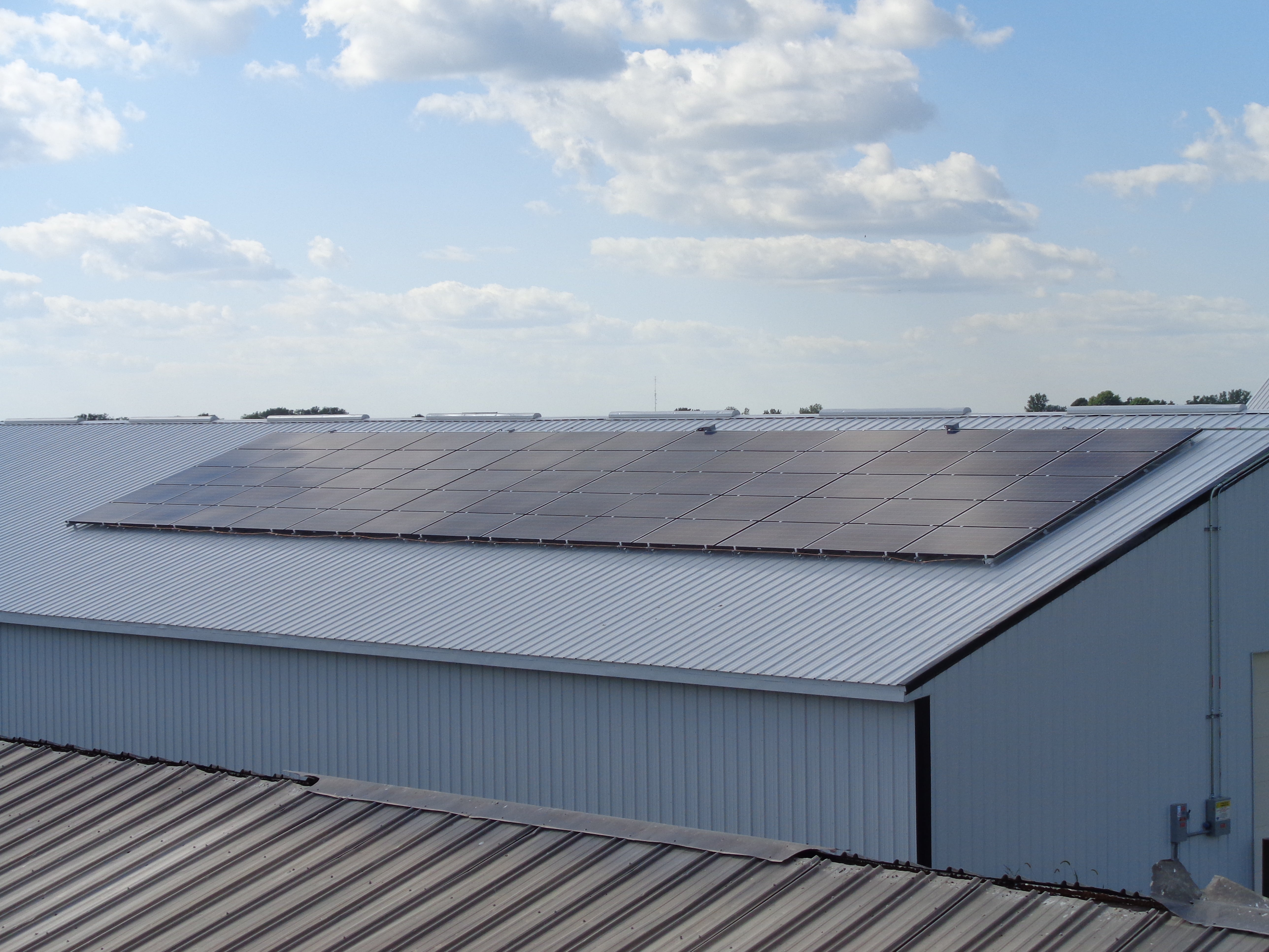 16.75Kw Roof Mount Turkey Farm